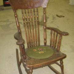 Antique Rocking Chair Desk Lowers Itself Photos Chairs