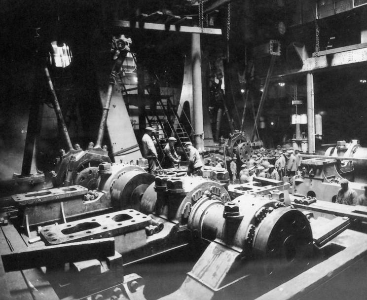 Titanic engine room photos