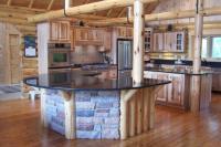 Home kitchen log photo