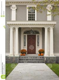 Front door and porch photos