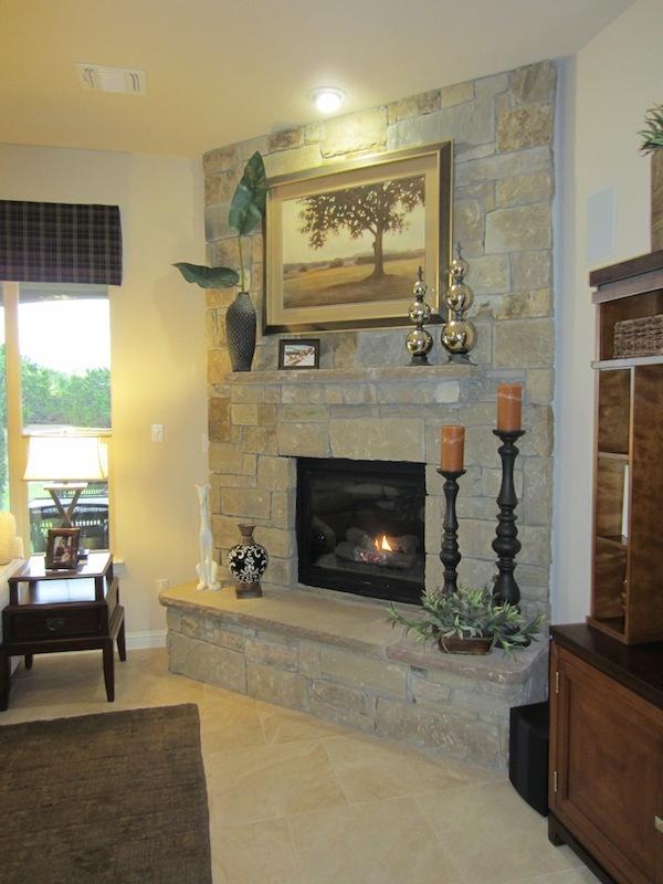 Raised hearth fireplace photos