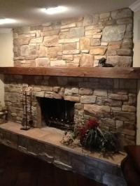 Fireplace redo photos