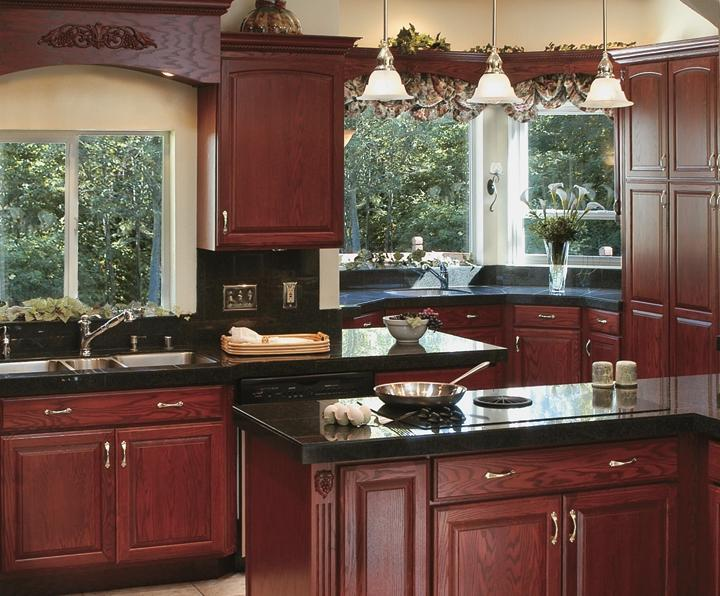maple kitchen cabinets decorating ideas red oak cabinet photos