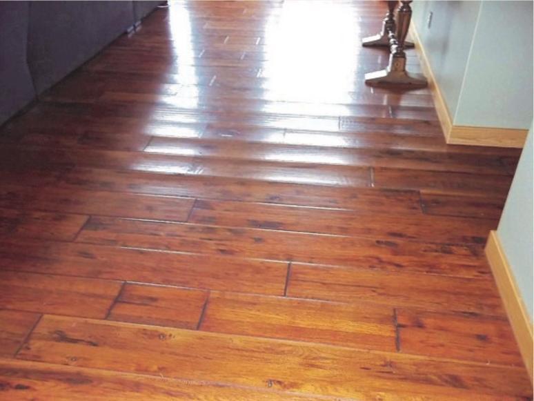 Buckled wood floor photos