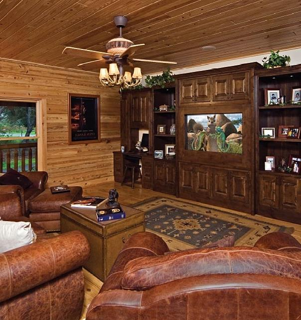 Log cabin interior design photos