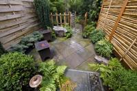 Simple rock garden photos