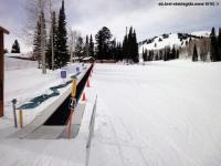 Magic carpet ski lift photo