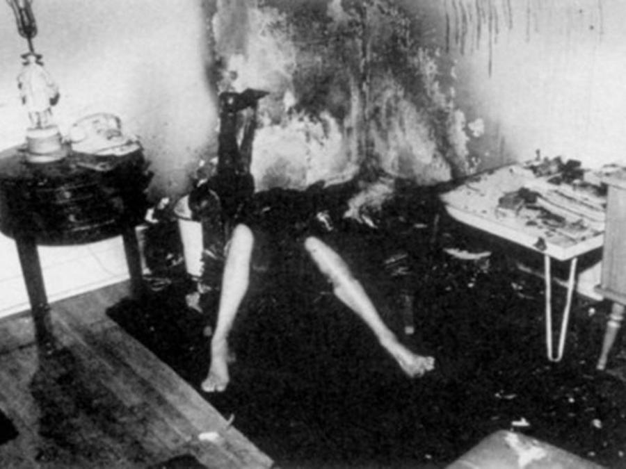 Ruth snyder electric chair photo