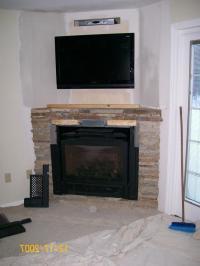 Corner Gas Fireplace Design Ideas fireplace corner ...