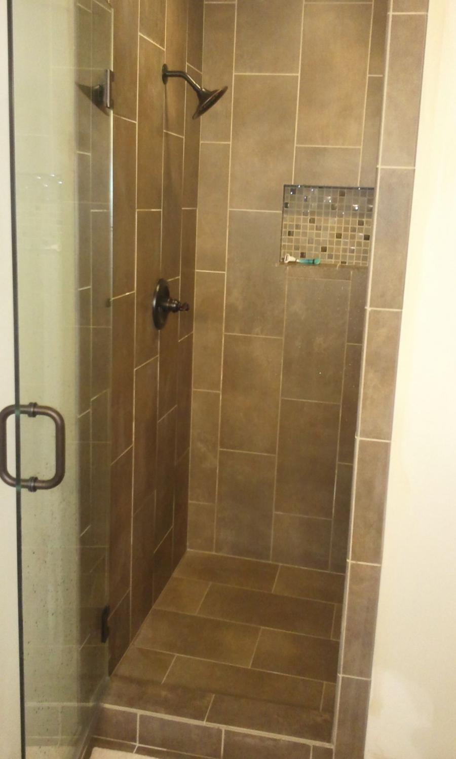 Custom Tile Showers Photos