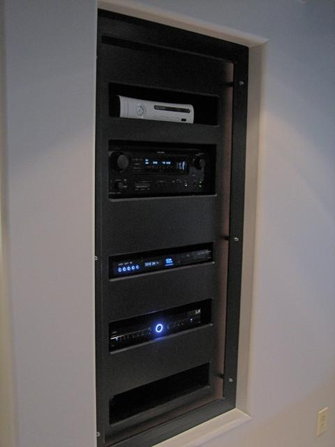 In wall stereo cabinet photos