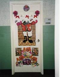 Pin Christmas-door-decorating-contest on Pinterest