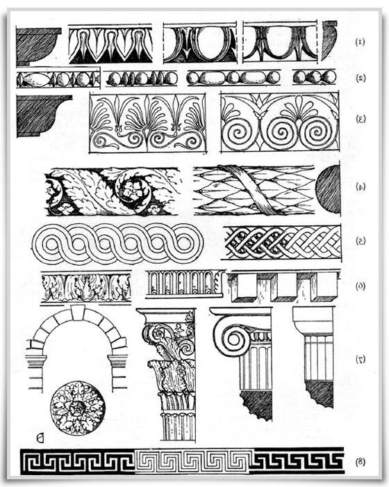 Photos of ancient roman furniture