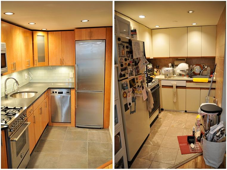 Apartment renovation before and after photos