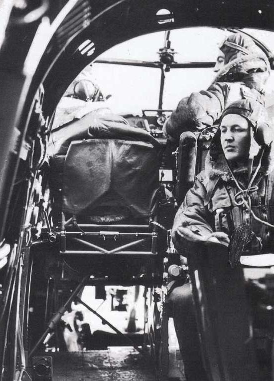 Lancaster bomber interior photos