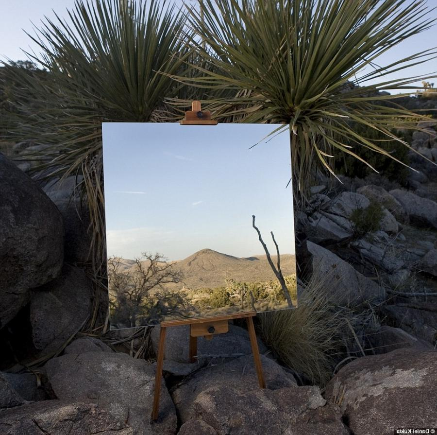 Mirror reflection photography tips