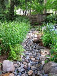 River rock garden photos