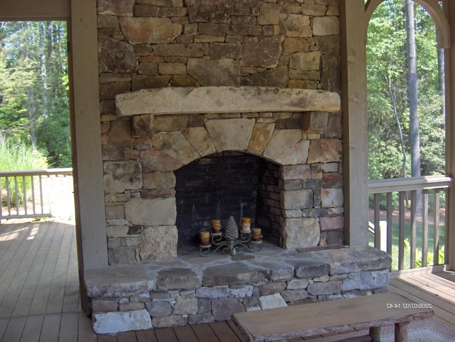 Fireplace Tile Designs Photos Of Old Stone Fireplaces