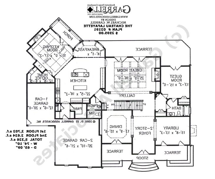 French style house plans with photos