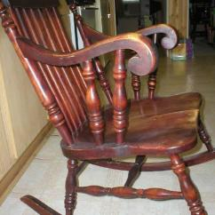 Vintage Wicker Rocking Chair Chez Lounge Photos Of Old Chairs