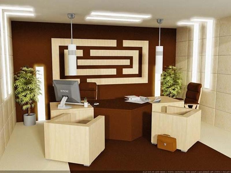 Small office interiors photos
