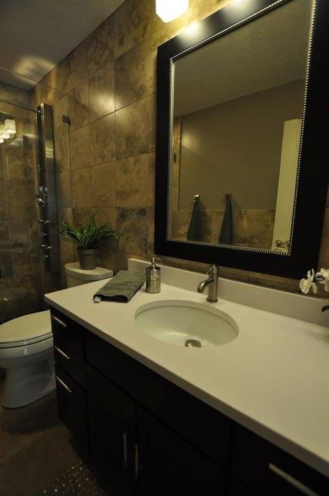 Bathroom makeovers small bathrooms photo gallery