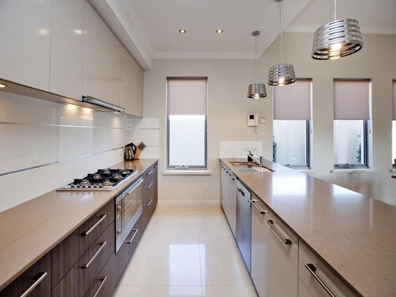 carpenter kitchen cabinet yellow pine cabinets corridor style photos