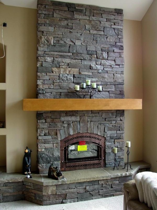 Cultured Stone Fireplace Photos