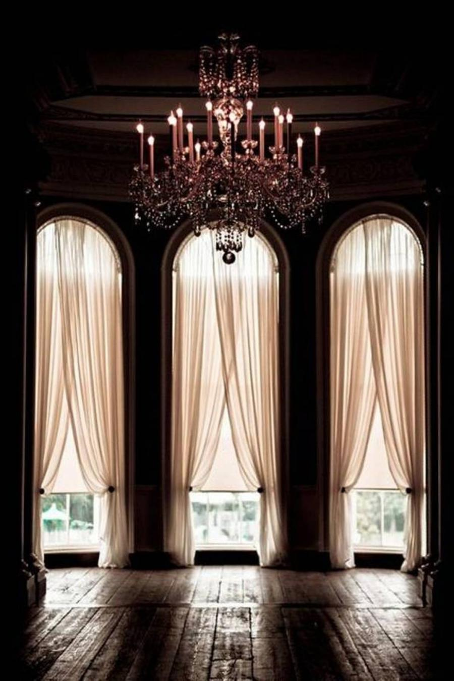bay window kitchen curtains home depot cabinet doors photos arched windows