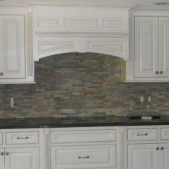 Kitchen Backsplash Panels Antique Cabinet Stacked Stone Photos