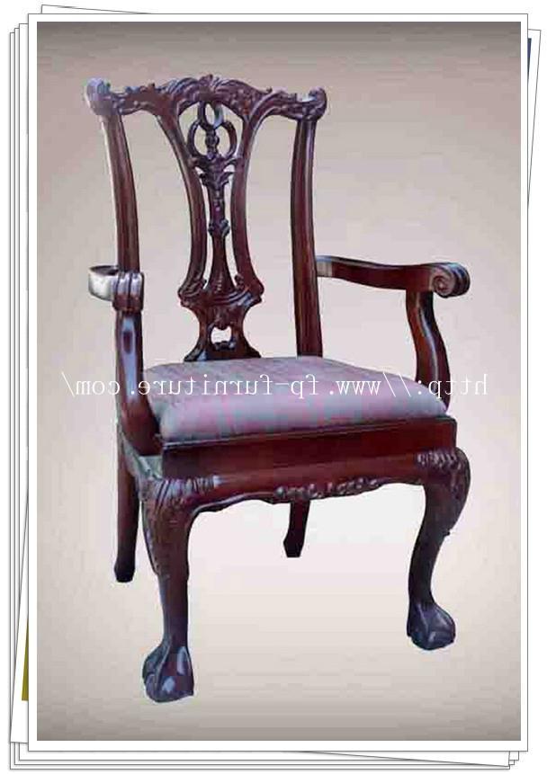 Antique chair identification photos