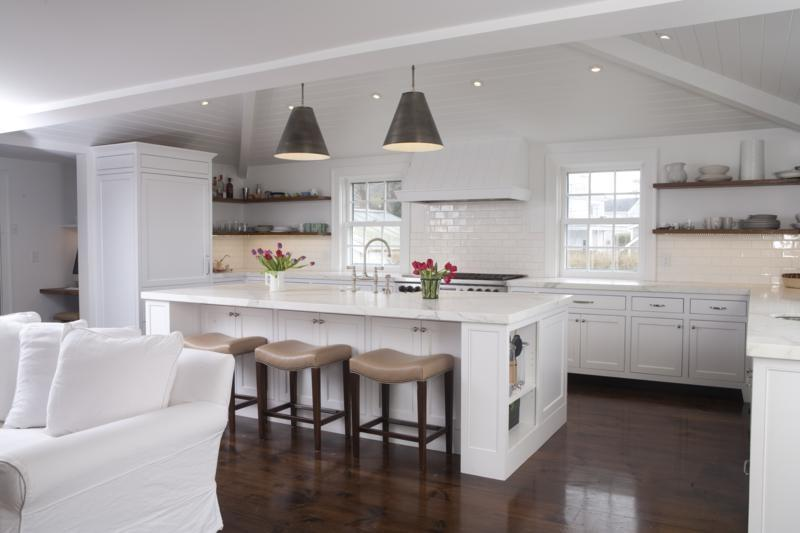 nantucket polar white kitchen cabinets hand grinder photo