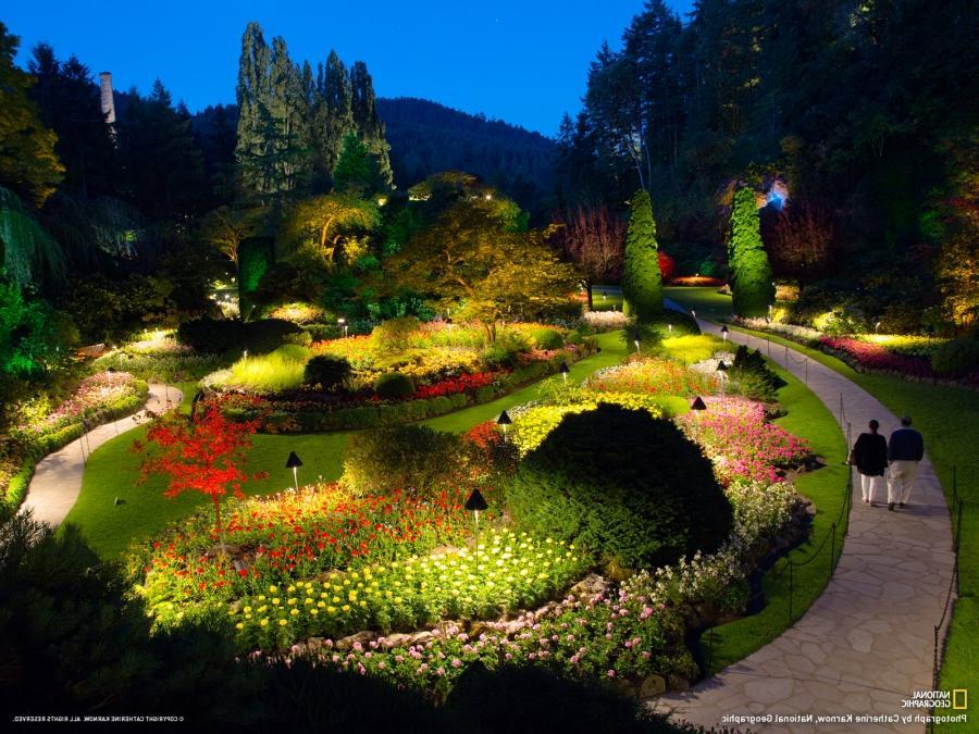 Butchart gardens october photos