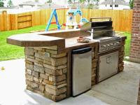 Photos of small outdoor kitchens