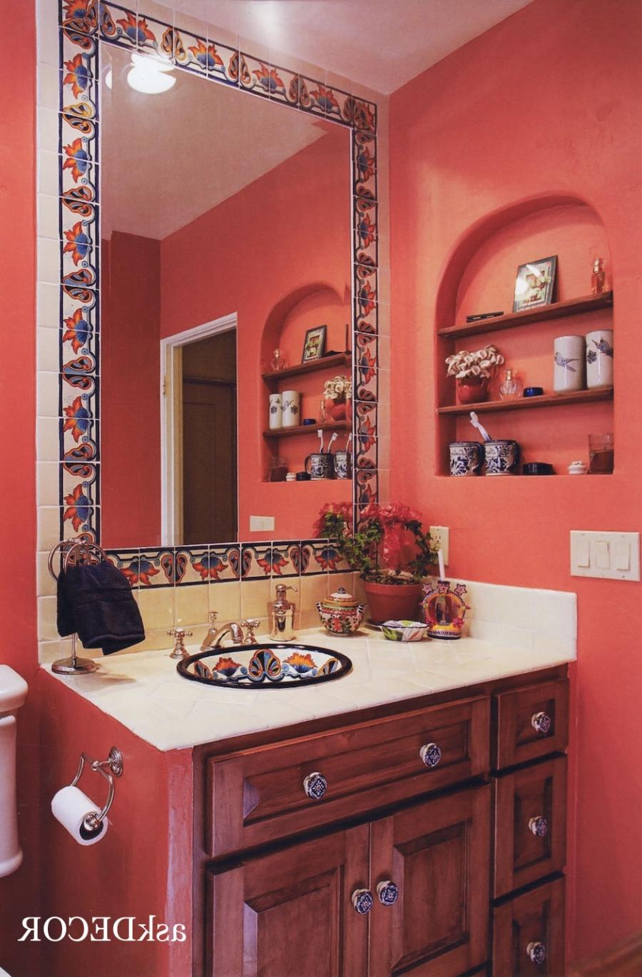 mexican style kitchen decor home depot range bathroom photos