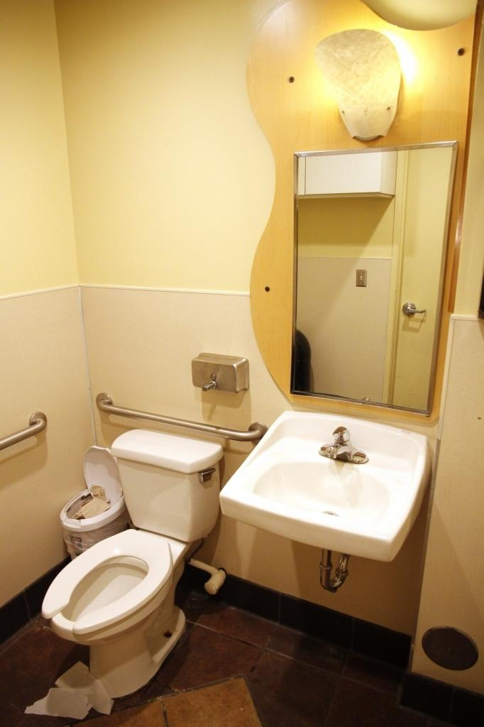 Candid bathroom photos