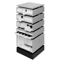 Photo slide storage cabinet