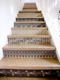 Tile stair risers photos