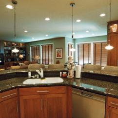 Natural Cherry Kitchen Cabinets Pull Out Faucet Photo Gallery