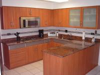 Photos of refaced cabinets