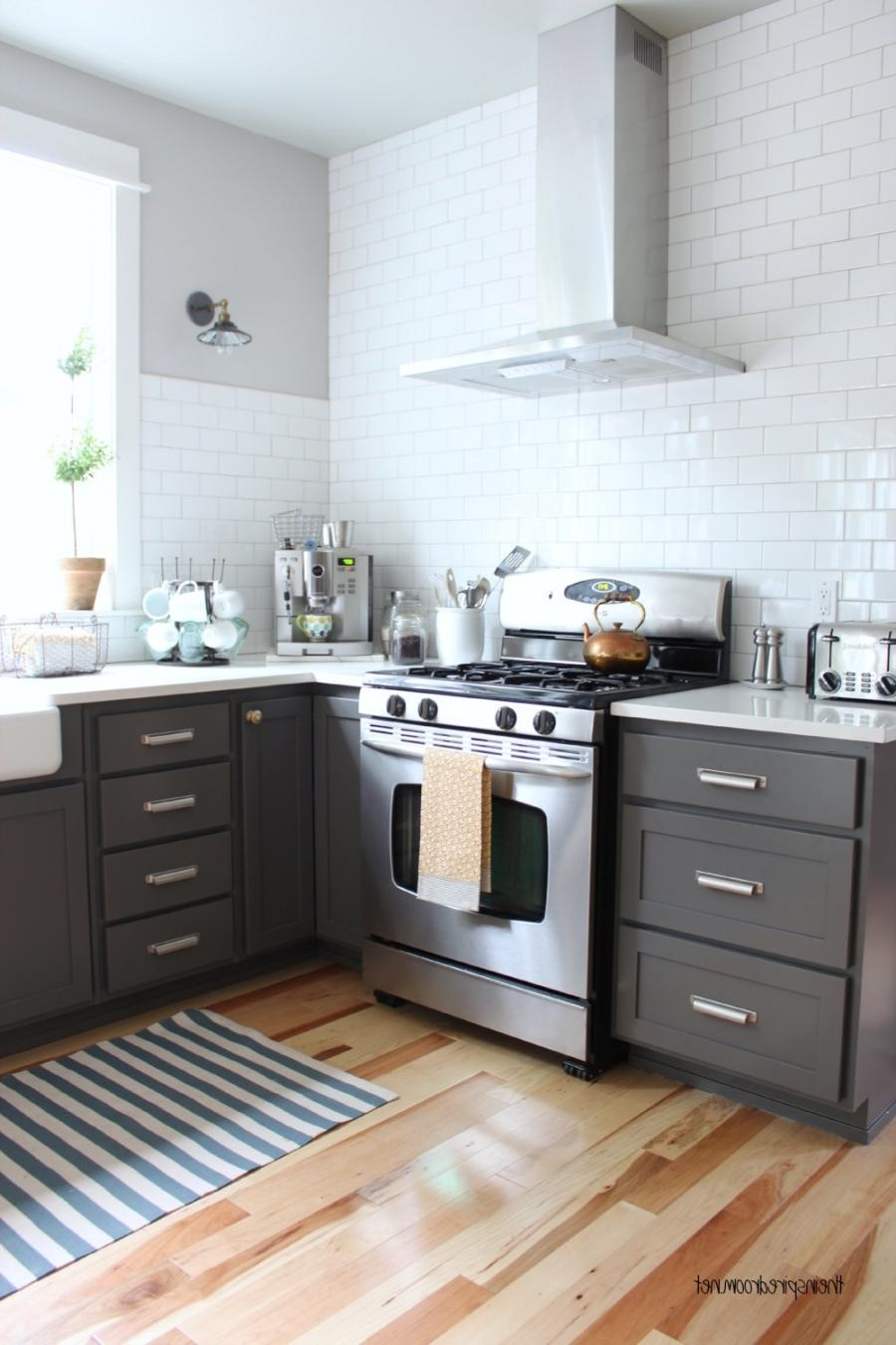 Charcoal Kitchen Cabinets Photos
