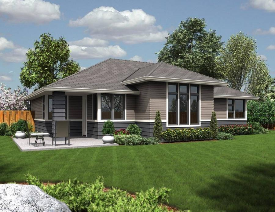 Contemporary ranch house plans with photos