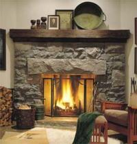 Fireplace design idea photos