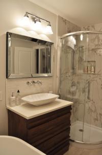 Guest bathroom vanity photos