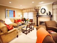 Family room furniture layout photos