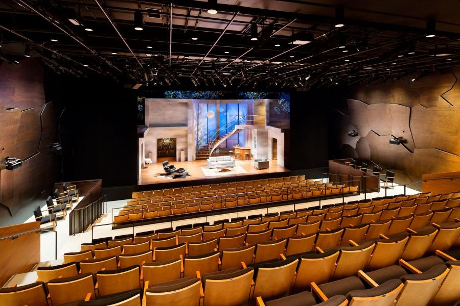 Photos of theaters interiors