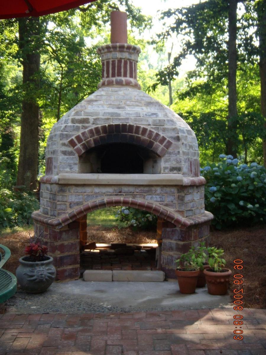 Outdoor brick oven photos