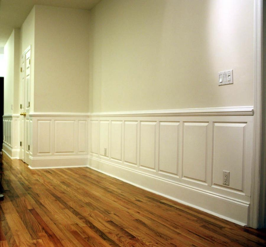 how to install chair rail the time out flat panel wainscoting photos