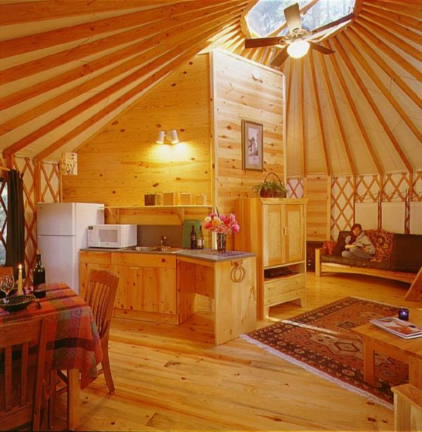 Authentic Tipi Interior - Year of Clean Water