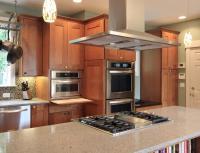 Kitchen island cooktop photos